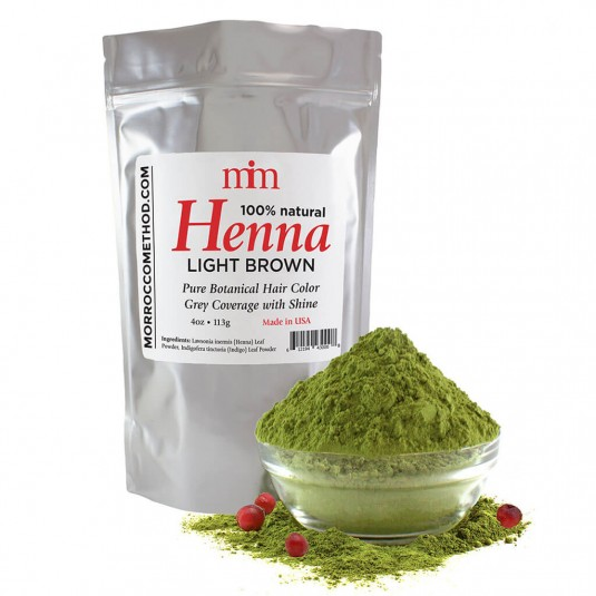Henna Hair Dye - Light Brown